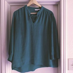 Cato green blouse top